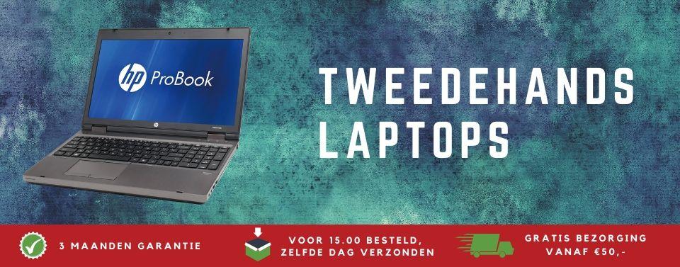 tweedehands laptops